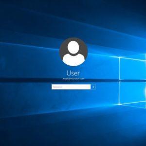 mot de passe Windows 10